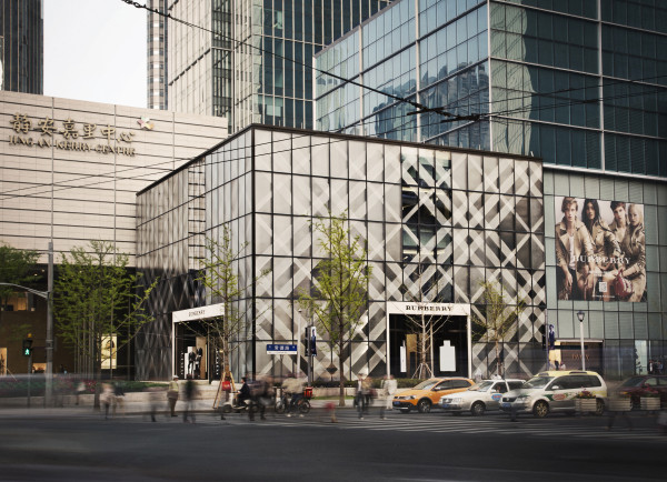 Burberry - new Shanghai flagship store 2