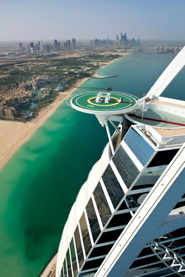 Burj Al Arab Helipad Wedding 2