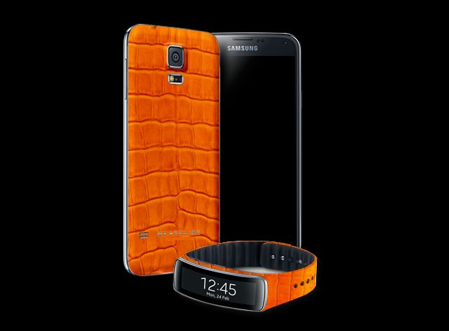 By Atelier Alligator Leather Samsung Galaxy S5 2