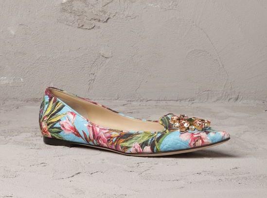 Dolce & Gabbana - Ballet Flats SS 2014 - 2