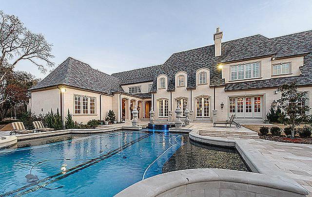 French Château in Bluffview, Dallas 20