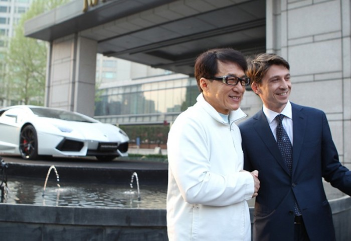 Lamborghini Aventador Jackie Chan