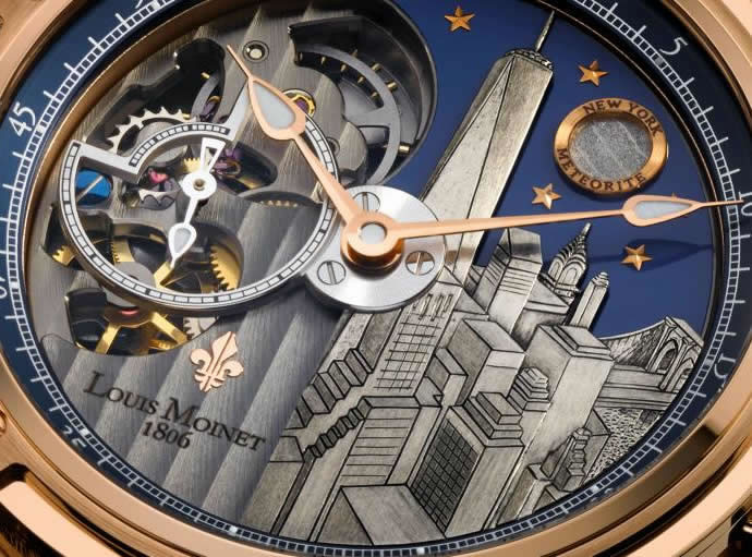 Louis Moinet Meconograph New York 1
