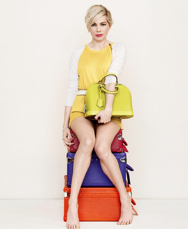 Louis Vuitton - 2014 SS Women - Michelle Williams 5