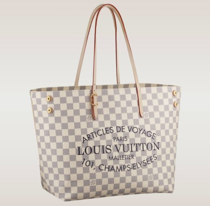 Louis Vuitton - Cabas Damier Azur MM