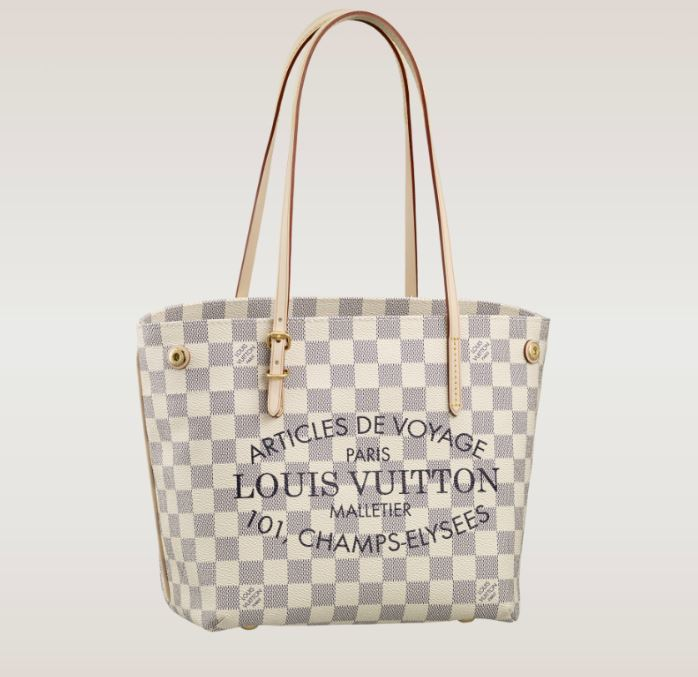 Louis Vuitton - Cabas Damier Azur PM