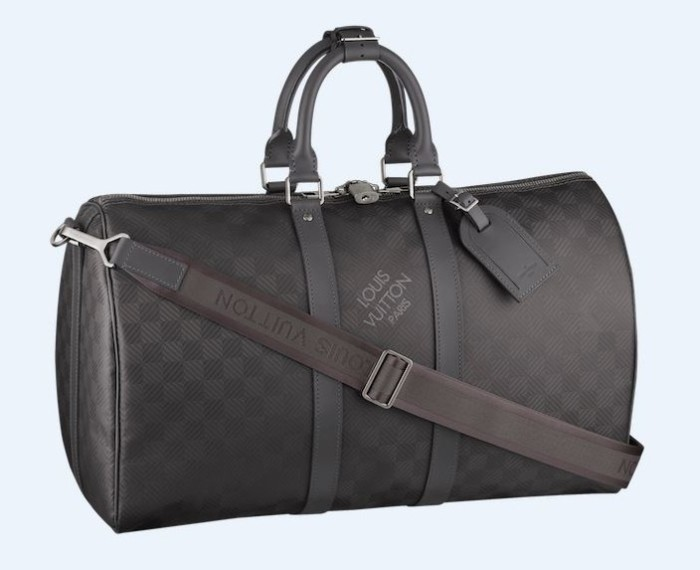Louis Vuitton Damier Carbone Keepall Bandouliere 2