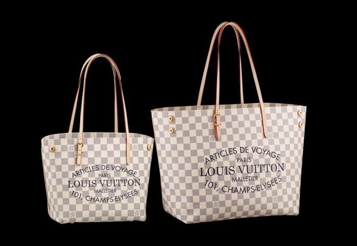 Louis Vuitton - Summer Canvas Cabas Damier Azur