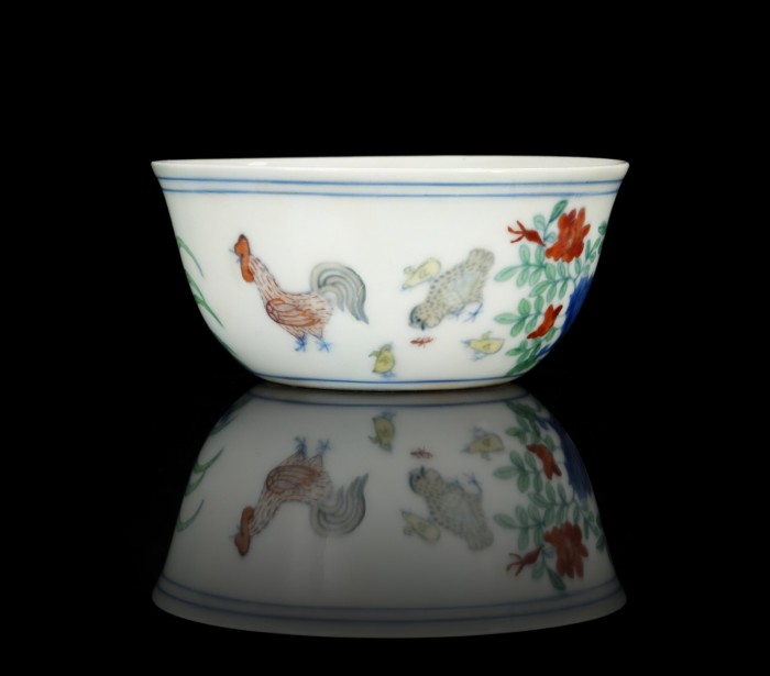 Ming Dynasty 'chicken cup' 3