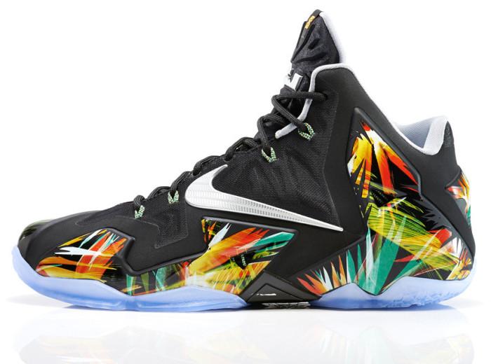 Nike LEBRON 11 Everglades 2
