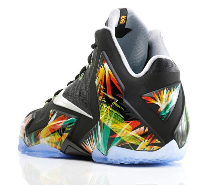Nike LEBRON 11 Everglades 3