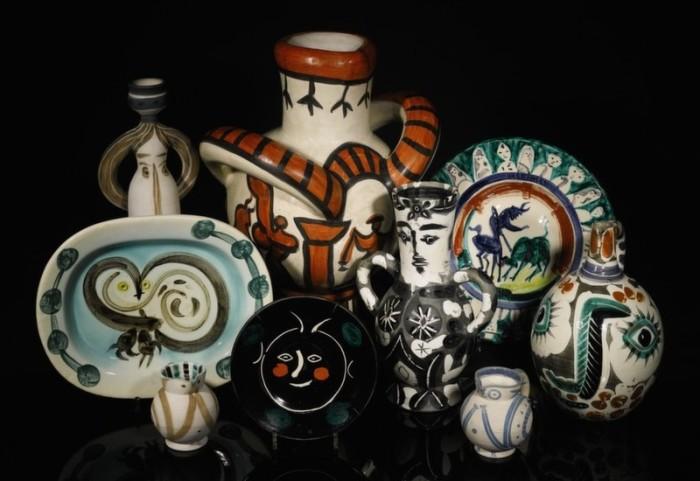 Picasso Ceramics Auction Sotheby's 1