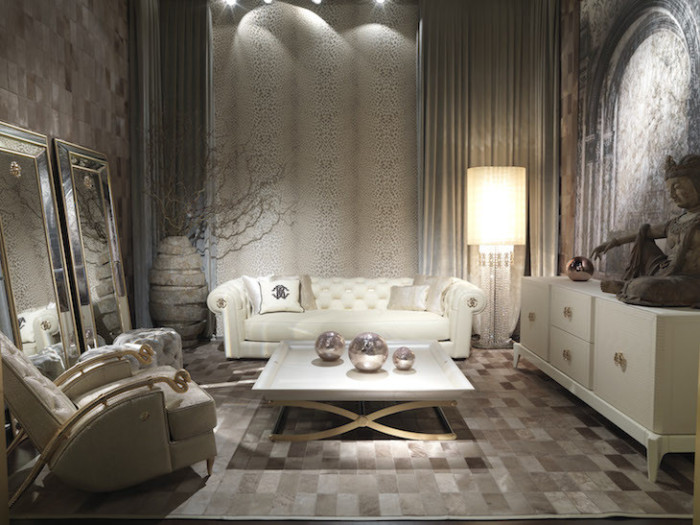 Roberto Cavalli Home Collection From Salone del Mobile - Lux ...