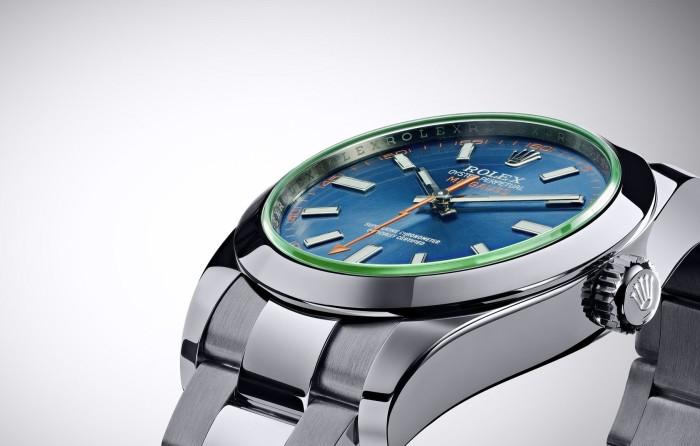 Rolex Oyster Perpetual Milgauss Z Blue 1