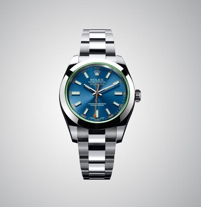 Rolex Oyster Perpetual Milgauss Z Blue 2