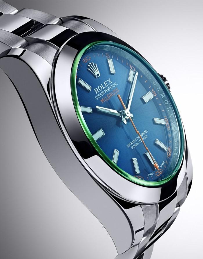 Rolex Oyster Perpetual Milgauss Z Blue 3