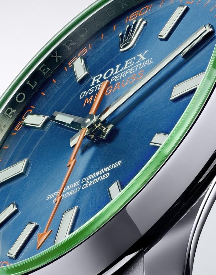 Rolex Oyster Perpetual Milgauss Z Blue 4