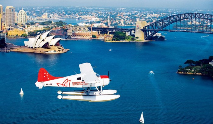Royal Australian Tour Sydney Seaplane