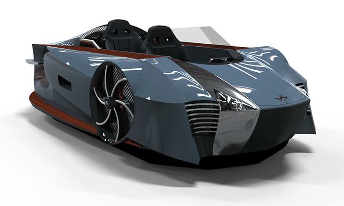 Supercraft Hovercraft - 1