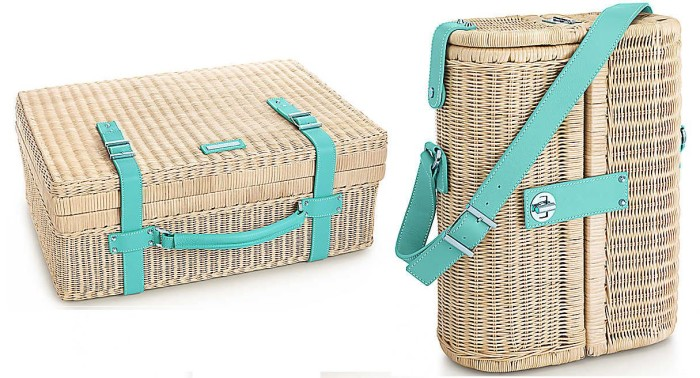Tiffany Picnic Basket and Wine Carrier 2