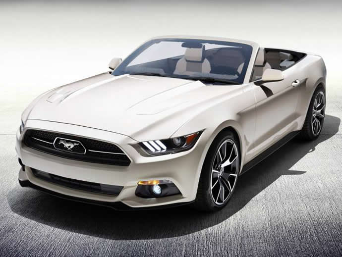 2015 Ford Mustang Anniversary Edition Convertible 1