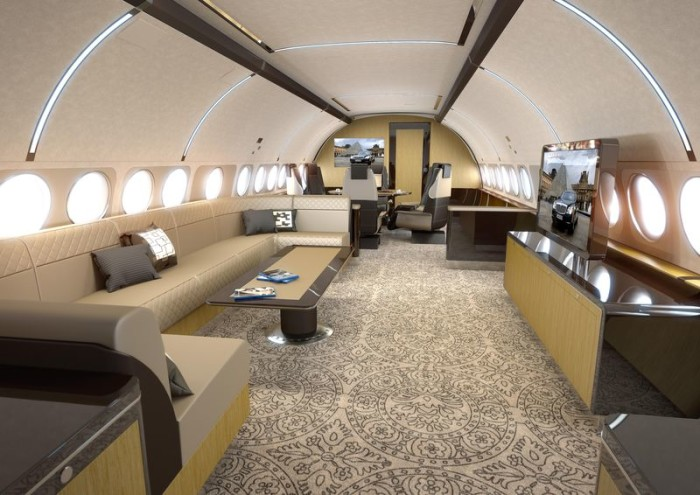 Airbus ACJ319 Elegance 1