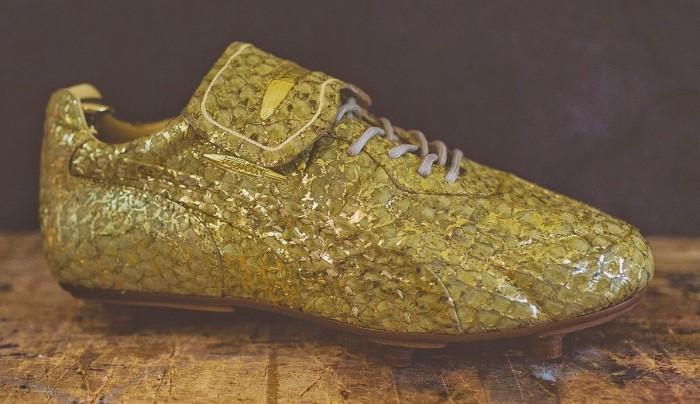 Alexander McQueen Puma King Boot - Gold Fish