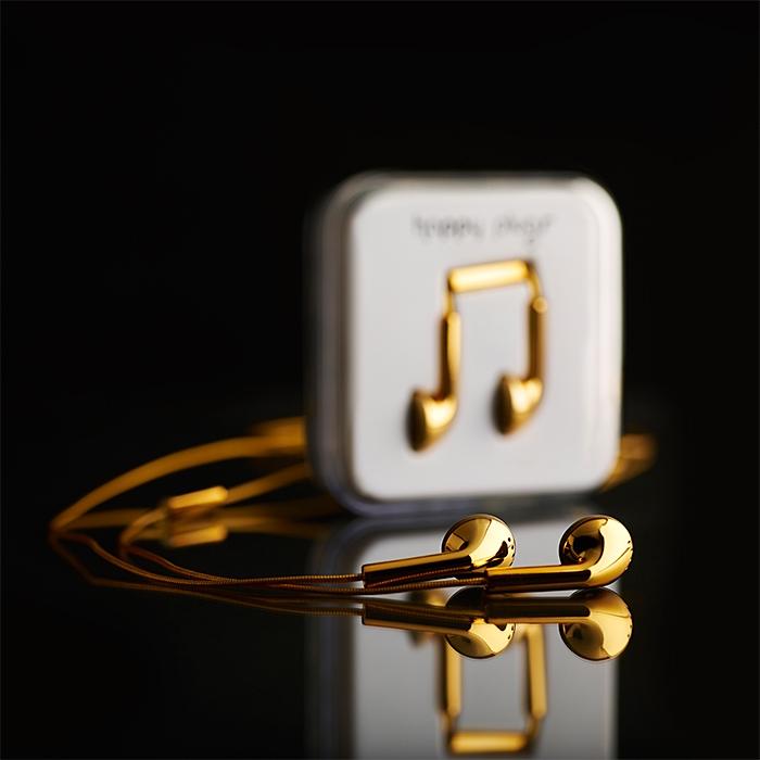 Happy Plugs 18 Karat Gold 1