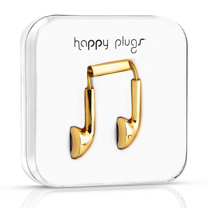 Happy Plugs 18 Karat Gold 3