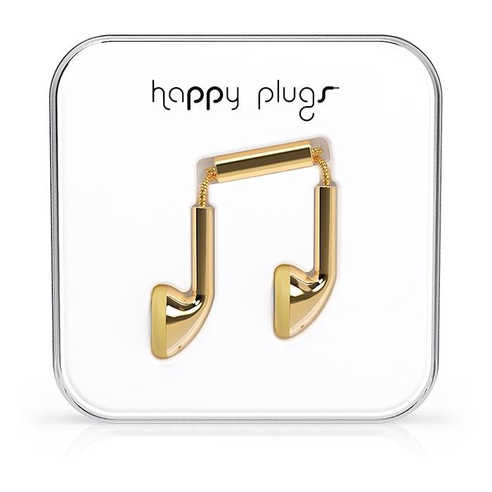 Happy Plugs 18 Karat Gold 4