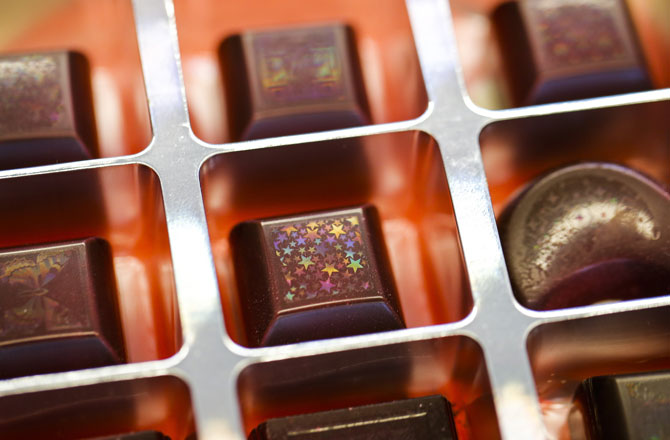 Holographic chocolates 3