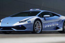 Lamborghini Huracan Italian Cop Car