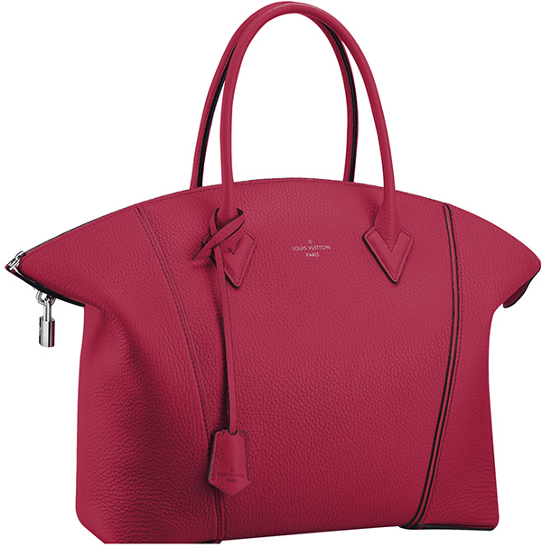 Louis Vuitton Parnassea Lockit - Framboise