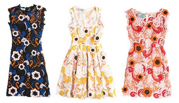 Prada Guipure Dresses