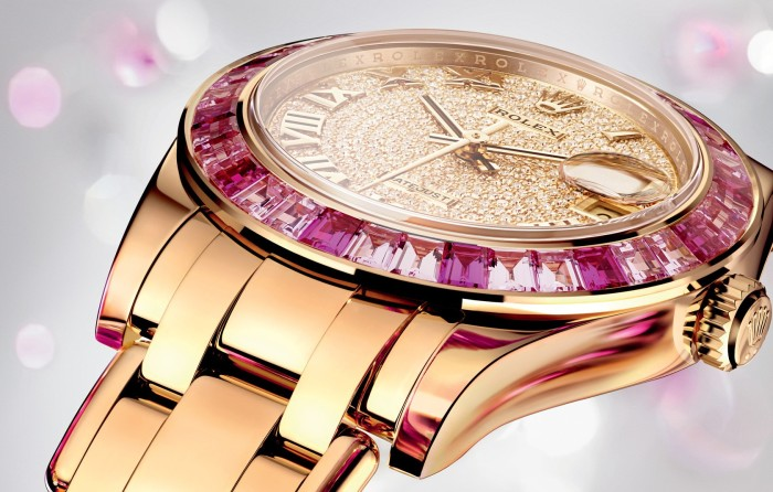 Rolex Lady Oyster Perpetual Datejust Pearlmaster 34 -1