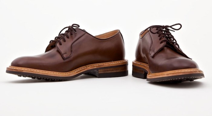 Tricker's x Superdenim Coffee Burnished Derby