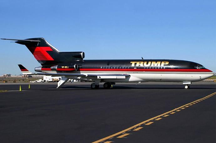 Donald Trump Boeing 757 - 1