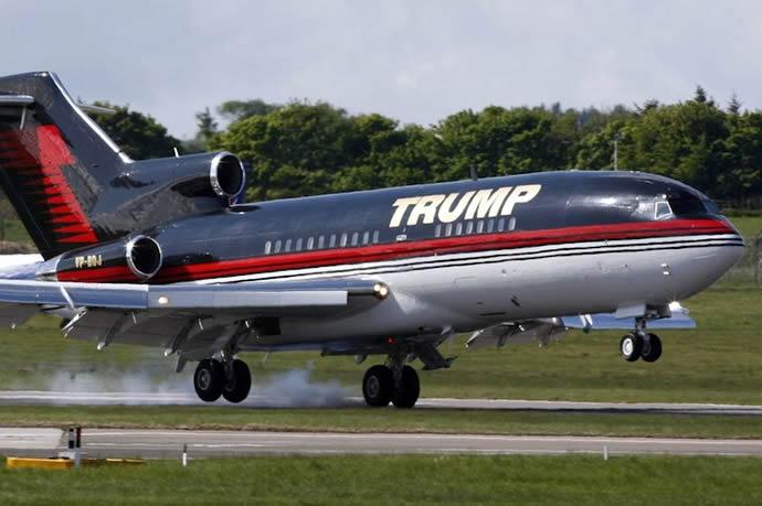 Donald Trump Boeing 757 - 2