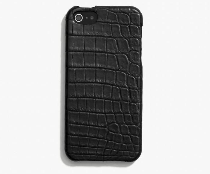 Coach iPhone 5 Crocodile Leather Case