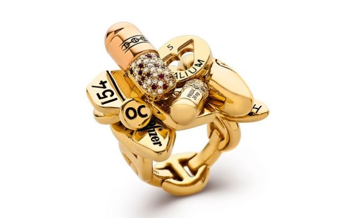 Damien Hirst Pill Ring 1