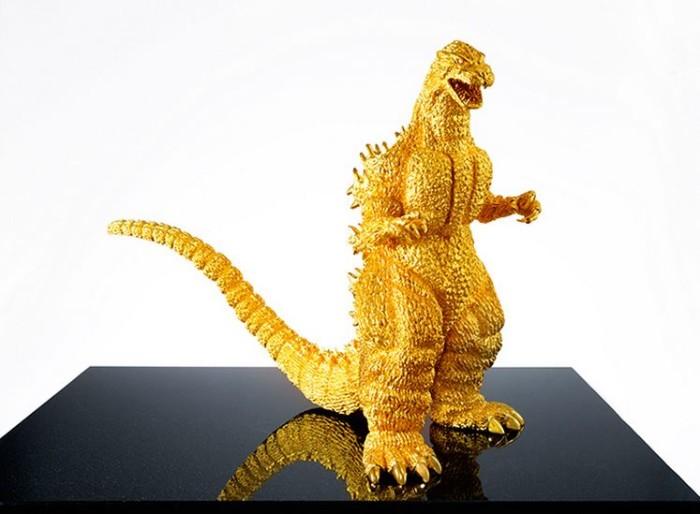 Ginza Tanaka Pure Gold Godzilla