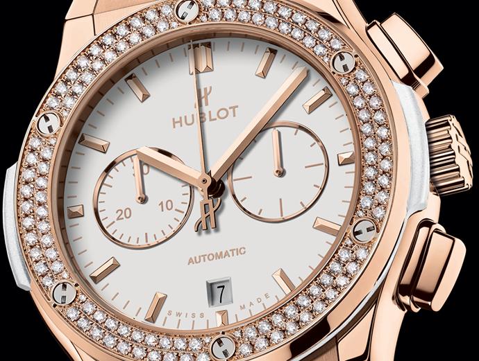 Hublot Classic Fusion Chronograph White 1