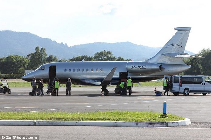 Michael Schumacher Private Jet