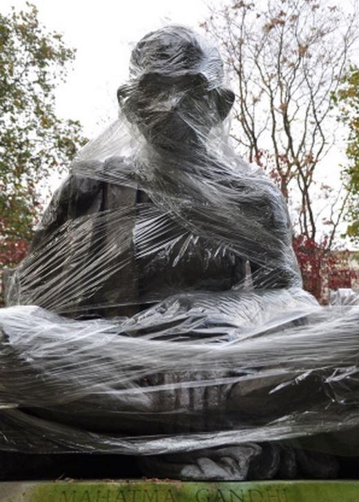 Plastic Guerrilla - Mahatma Gandhi