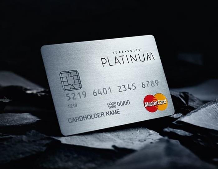 Pure+Solid Credit Cards - Platinum