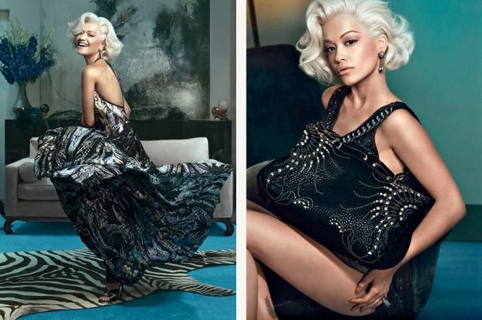 Rita Ora For Roberto Cavalli 2