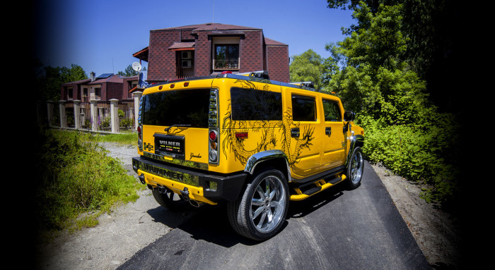 Vilner Hummer H2 Chinese Dragon 2