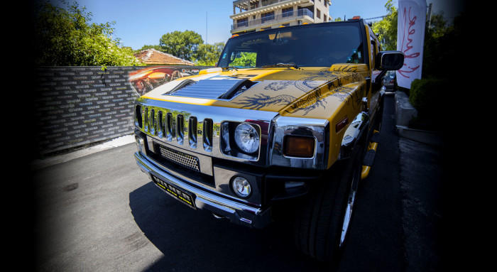 Vilner Hummer H2 Chinese Dragon 4