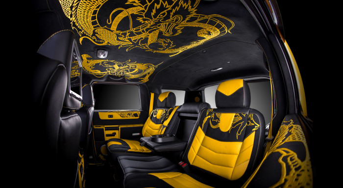 Vilner Hummer H2 Chinese Dragon 9