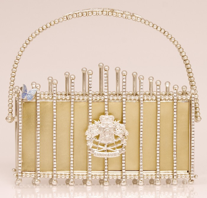 House of Borgezie Le Palais Clutch 1